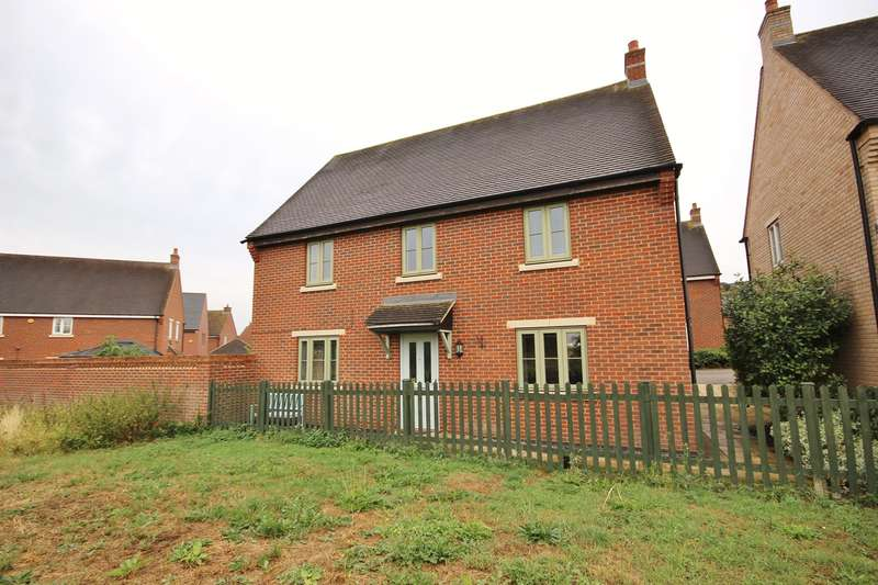 4 Bedrooms Detached House for sale in Kerrison Close, Lidlington, Bedford, MK43