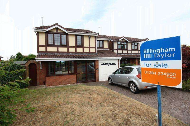 4 Bedrooms Detached House for sale in Gatcombe Road, Dudley, DY1 2SX