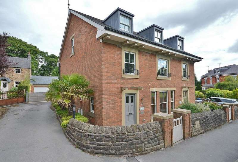 4 Bedrooms Semi Detached House for sale in Oldknow Road, Marple