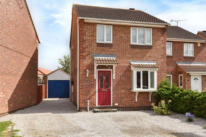 3 Bedrooms Semi Detached House for sale in Adelaide Close, Waddington, LN5