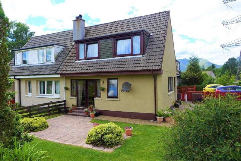 3 Bedrooms Semi Detached House for sale in 35 Glenview, Dalmally, PA33 1BE