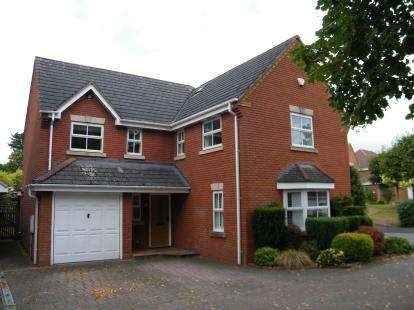 4 Bedrooms Detached House for sale in Reid Close, Burntwood, Staffordshire