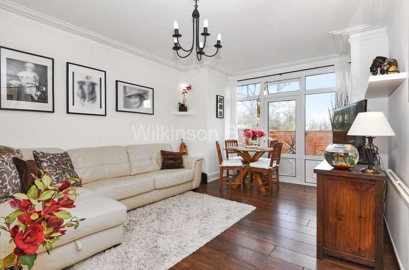 2 Bedrooms Ground Flat for sale in Elvendon Road