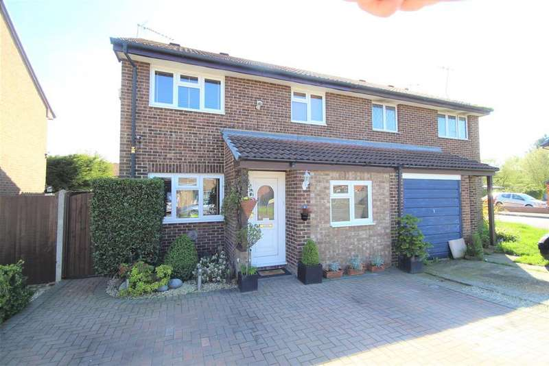 3 Bedrooms Semi Detached House for sale in Saleby Close, Lower Earley, Reading
