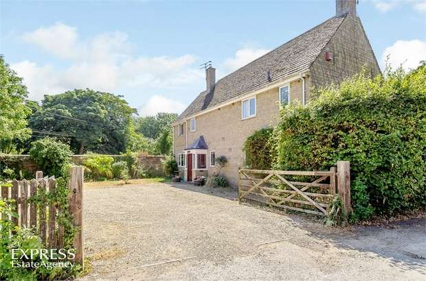 5 Bedrooms Detached House for sale in Kelmscott, Lechlade, Oxfordshire