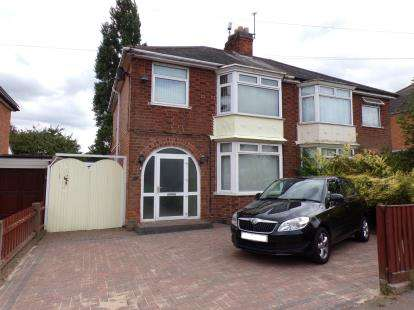 3 Bedrooms Semi Detached House for sale in Turnbull Drive, Braunstone Town, Leicester, Leicestershire