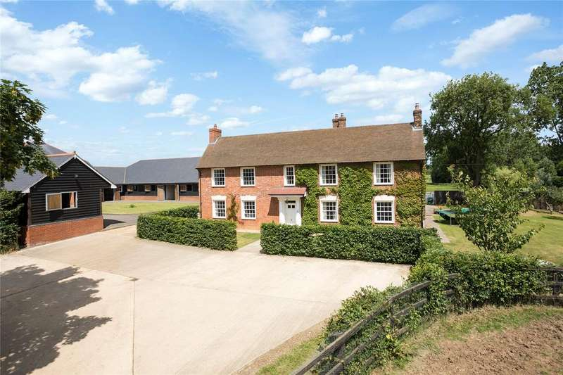 7 Bedrooms Equestrian Facility Character Property for sale in Mill Lane, Hulcote, Milton Keynes, Bedfordshire, MK17