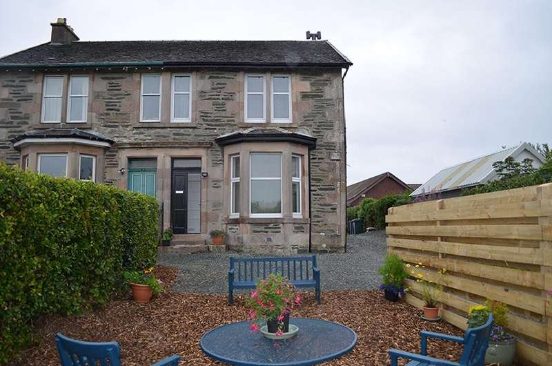 3 Bedrooms Semi Detached House for sale in Queen Street, Dunoon, Argyll and Bute, PA23 8AX