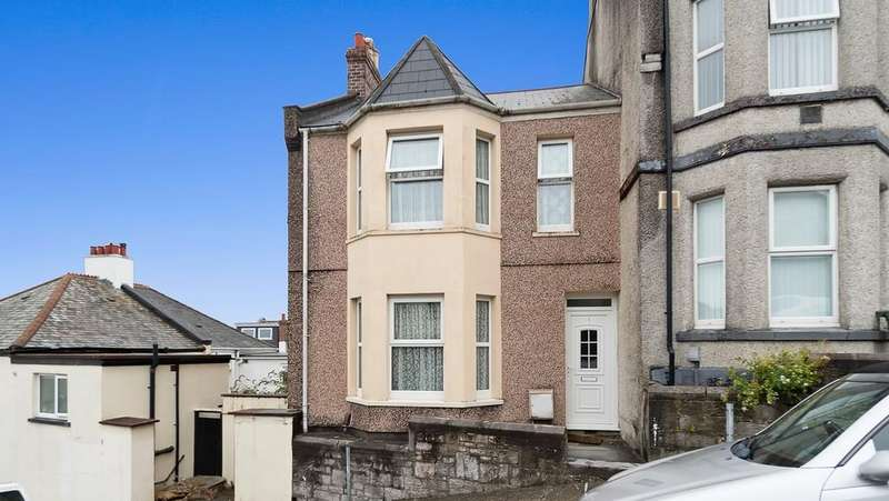 3 Bedrooms End Of Terrace House for sale in Fairfax Terrace, Stoke, Plymouth