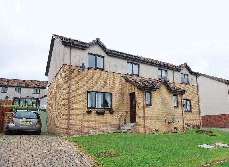 3 Bedrooms Semi Detached House for sale in 5 Ailsa Craig View, Drongan, KA6 7EL
