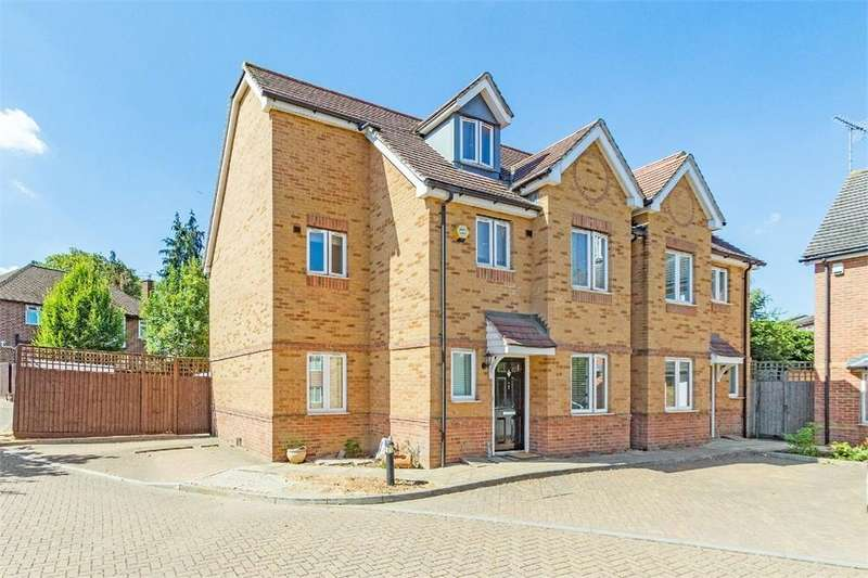 4 Bedrooms Town House for sale in Linden Close, Iver Heath, Buckinghamshire