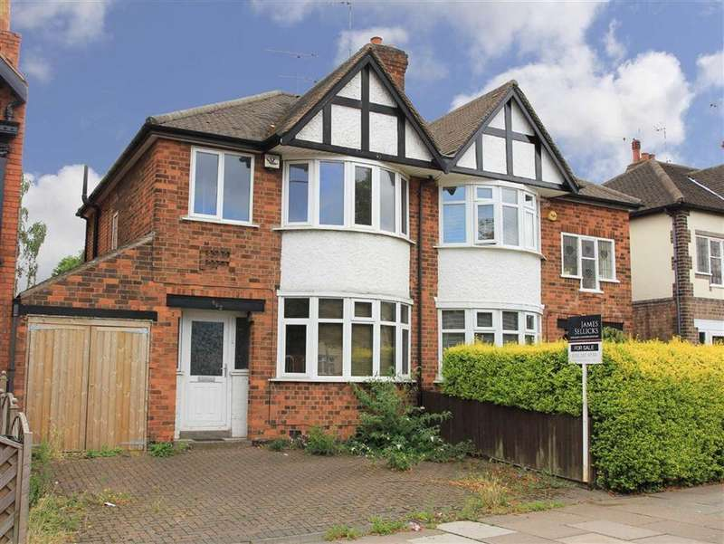 3 Bedrooms Semi Detached House for sale in Narborough Road, Rowley Fields, Leicester