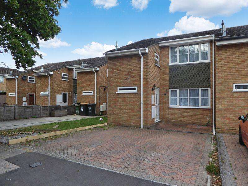 3 Bedrooms Terraced House for sale in Saxon Close, Dunstable