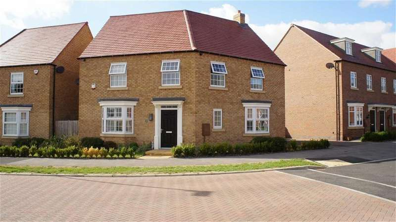 4 Bedrooms Detached House for sale in William Spencer Avenue, Sapcote