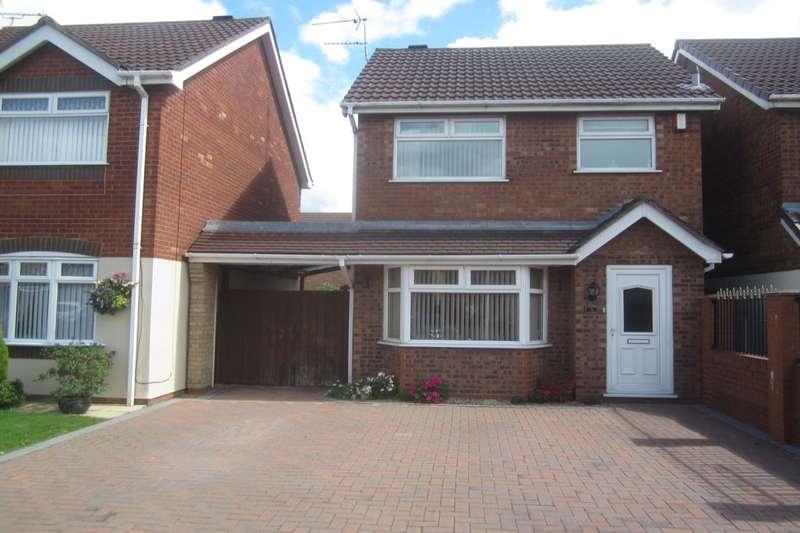 3 Bedrooms Detached House for sale in Merlin Way, Crewe, CW1
