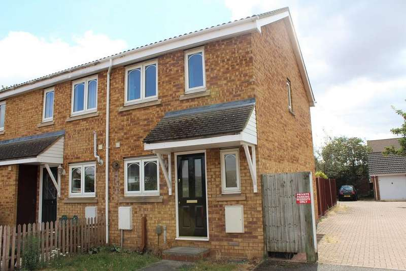 2 Bedrooms End Of Terrace House for sale in Reynolds Close, Biggleswade, SG18