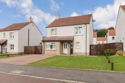 4 Bedrooms Detached House for sale in Netherplace Quadrant, Mauchline, East Ayrshire