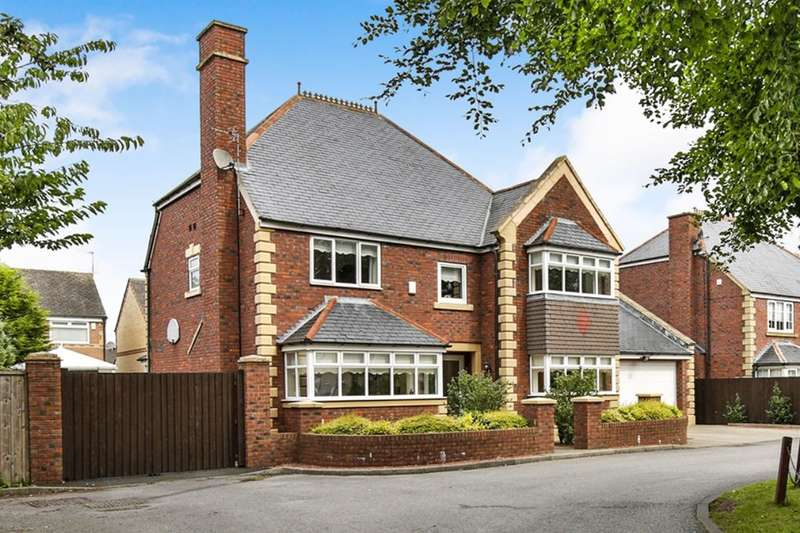 4 Bedrooms Detached House for sale in Usworth Hall, Washington, NE37