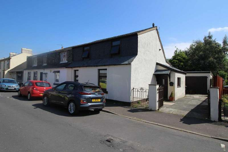 3 Bedrooms Semi Detached House for sale in 22 Wilson Street, LARGS, KA30 9AQ