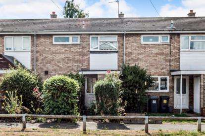 2 Bedrooms Terraced House for sale in Manor Road, Marston Moretaine, Bedford, Bedfordshire