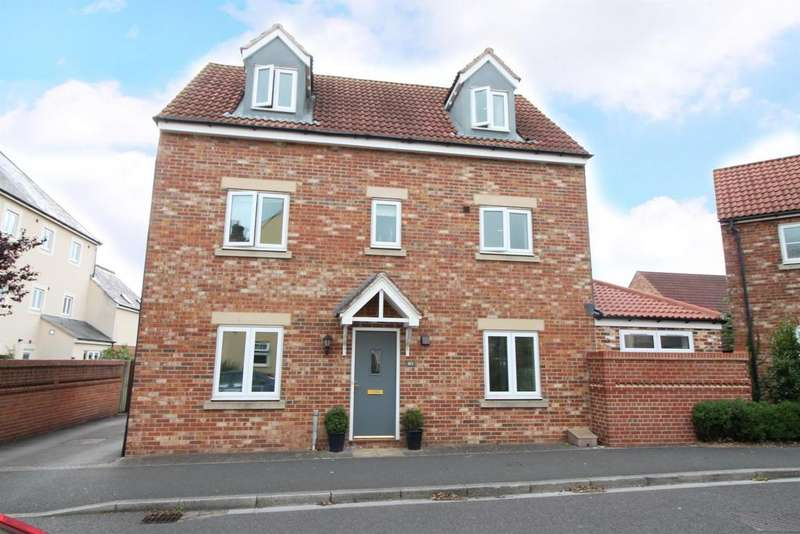4 Bedrooms Detached House for sale in Phoenix Way, Portishead, North Somerset, BS20 7GP