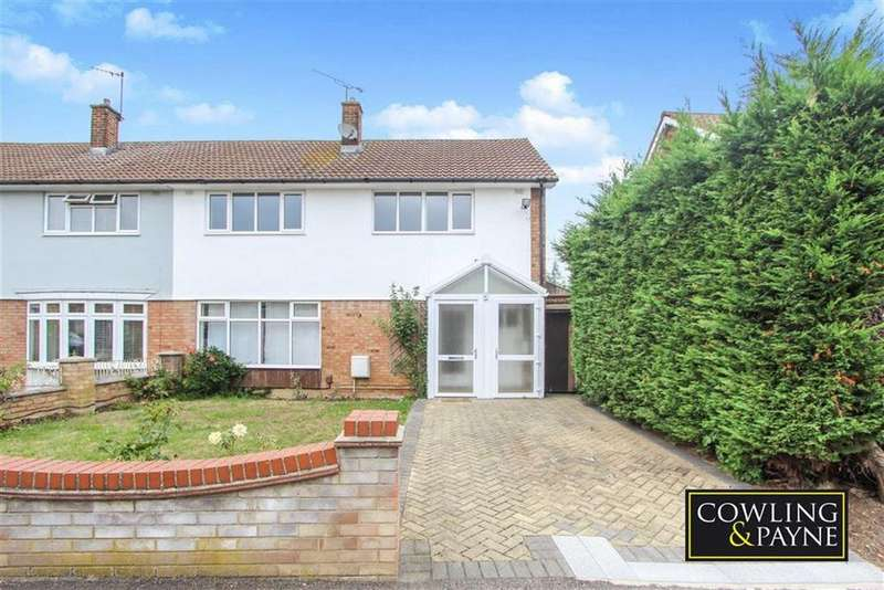 4 Bedrooms Semi Detached House for sale in Holden Road, Basildon, Essex