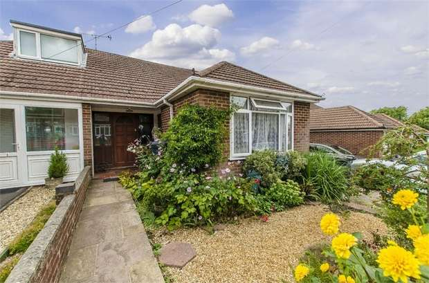 3 Bedrooms Semi Detached Bungalow for sale in Rogers Road, Bishopstoke, Eastleigh, Hampshire