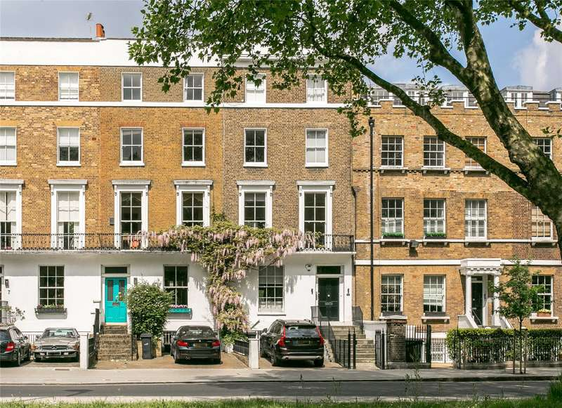 5 Bedrooms Terraced House for sale in Clapham Common North Side, Clapham, London, SW4