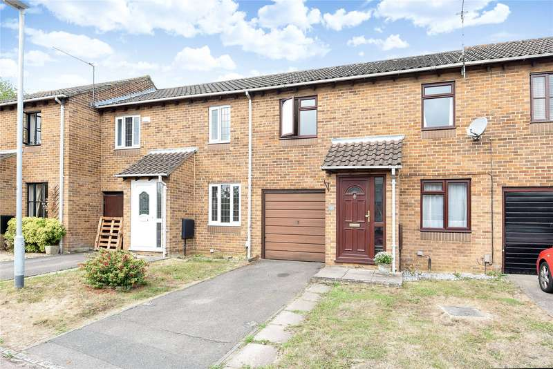2 Bedrooms Terraced House for sale in Chilcombe Way, Lower Earley, Reading, Berkshire, RG6
