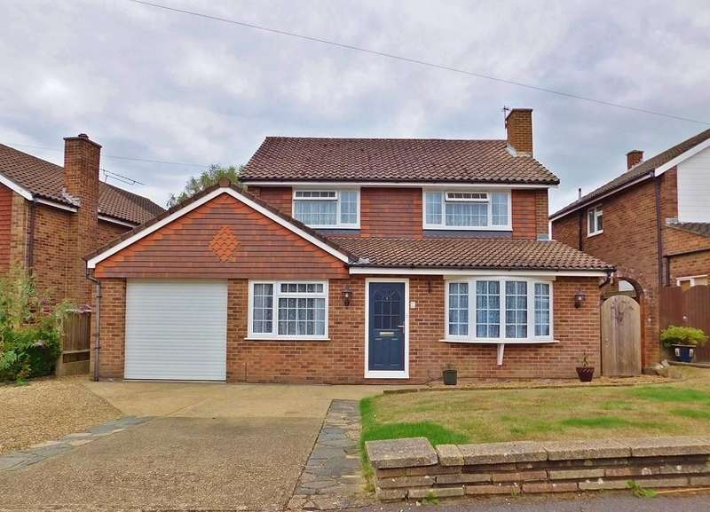4 Bedrooms Detached House for sale in Mallory Crescent, Fareham