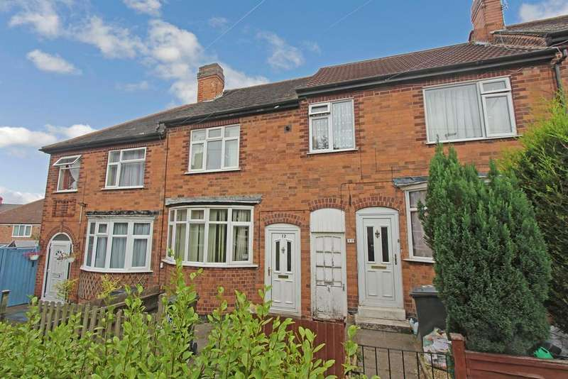 3 Bedrooms Terraced House for sale in Richmond Close, Leicester, LE2