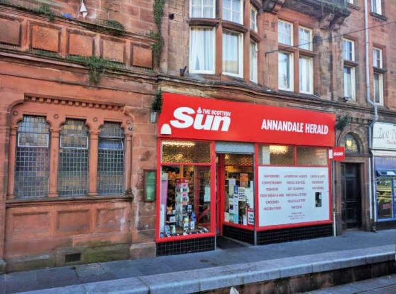Shop Commercial for sale in Annandale Herald, 92 High Street, Lockerbie