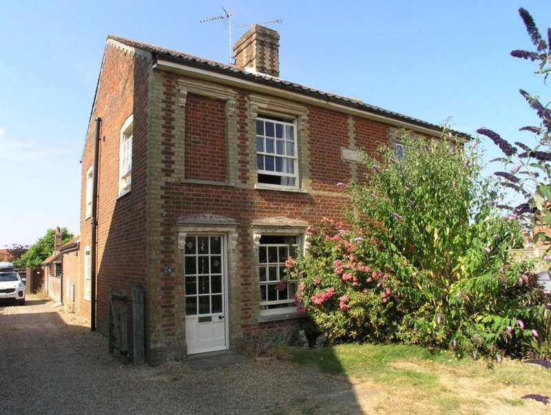 2 Bedrooms Semi Detached House for sale in Field Stile Road, Southwold