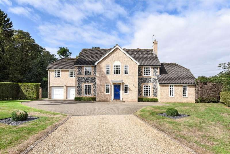 5 Bedrooms Detached House for sale in Beech Park, Great Barton, Bury St Edmunds, Suffolk, IP31
