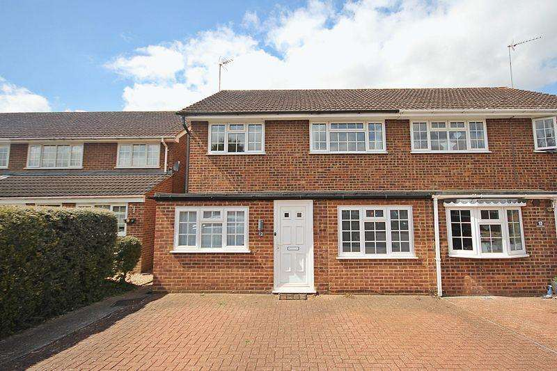 3 Bedrooms End Of Terrace House for sale in Campion Road, Westoning