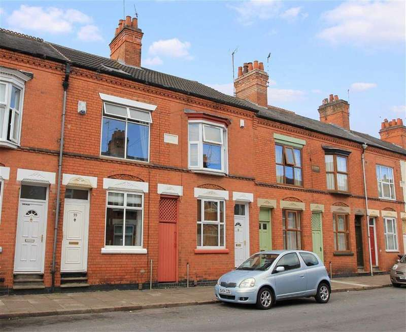 3 Bedrooms Terraced House for sale in Mountcastle Road, West End, Leicester