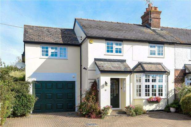 4 Bedrooms Semi Detached House for sale in Fairmead Road, Shinfield, Reading