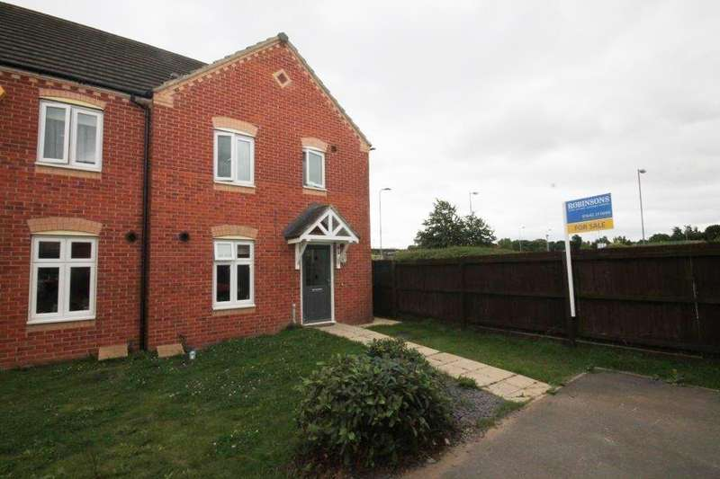 3 Bedrooms Semi Detached House for sale in Harvington Chase, Coulby Newham, Middlesbrough