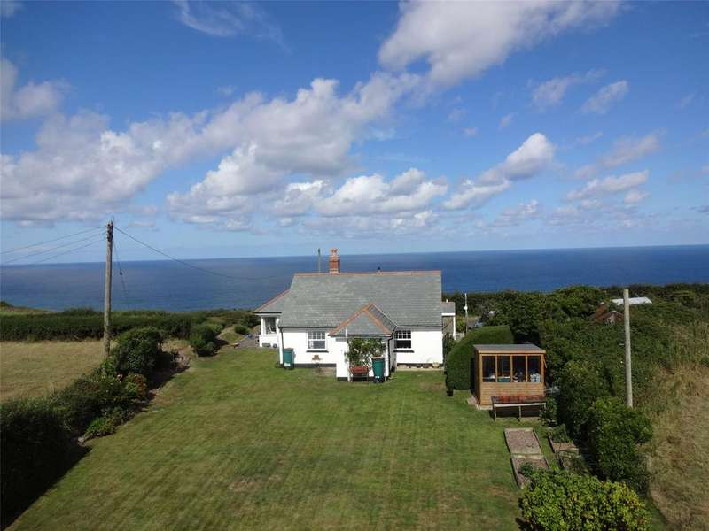 2 Bedrooms Detached Bungalow for sale in Millook, Poundstock
