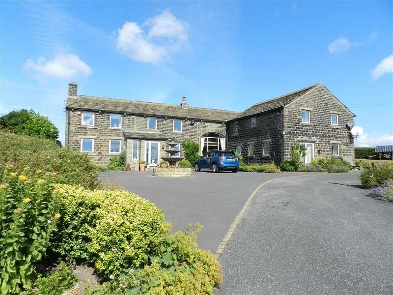 5 Bedrooms Detached House for sale in Birds Nest Lane, Potters Gate, Off Wind Mill Lane, Huddersfield, HD8