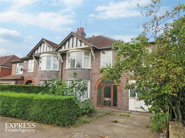 5 Bedrooms Semi Detached House for sale in Craighill Road, Leicester