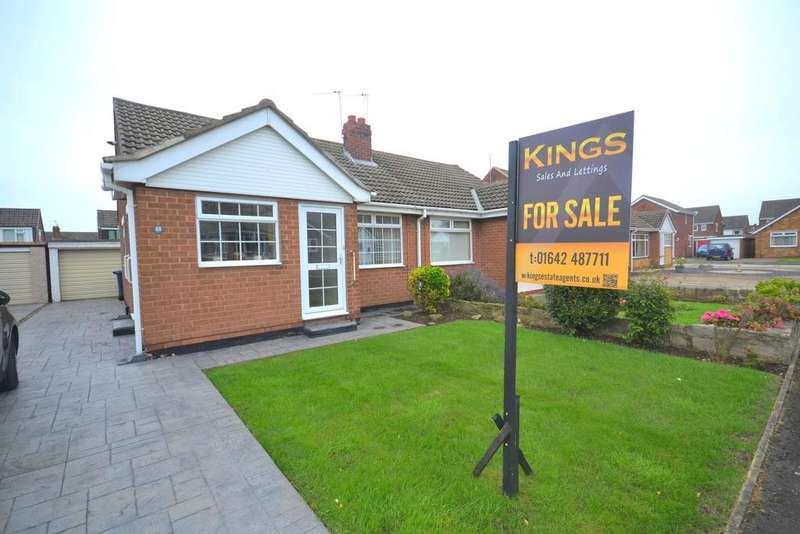 2 Bedrooms Semi Detached Bungalow for sale in Spencer Close