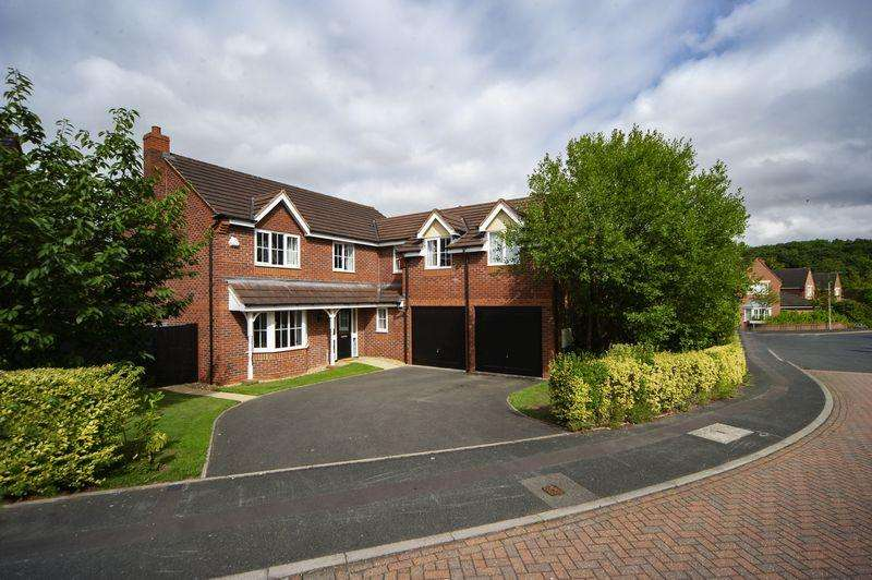 5 Bedrooms Detached House for sale in Dorchester Drive, Muxton, Telford, Shropshire.