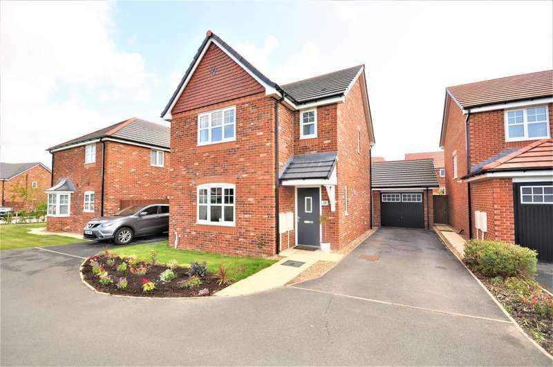 3 Bedrooms Detached House for sale in Sanderling Way, Wesham, Preston, Lancashire, PR4 3JL