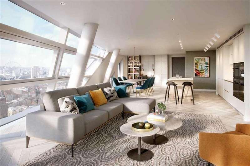 3 Bedrooms Apartment Flat for sale in Ontario Street, London