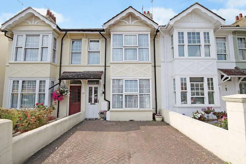 3 Bedrooms Terraced House for sale in Southview Road, Southwick, Brighton BN42 4TW