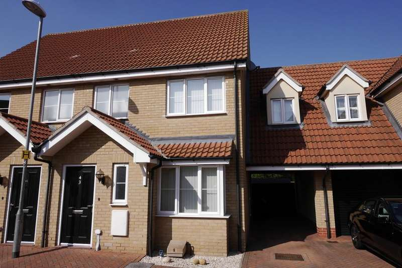 3 Bedrooms Terraced House for sale in Williamsburg Avenue, Harwich