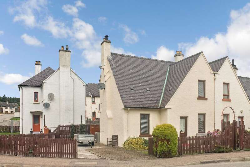 3 Bedrooms Semi Detached House for sale in Teaninich Street, Alness, IV17 0RE