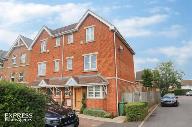 4 Bedrooms Semi Detached House for sale in Northpoint Close, Sutton, Surrey
