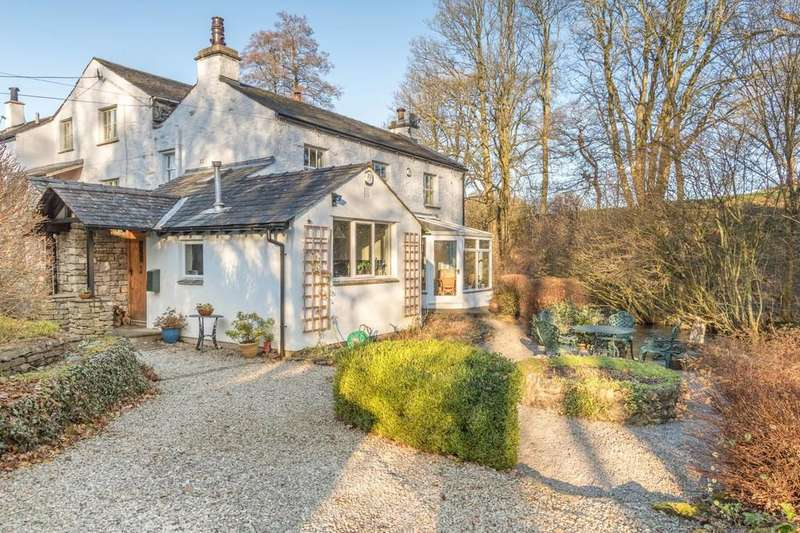 4 Bedrooms Semi Detached House for sale in Low Mill Cottage, Underbarrow